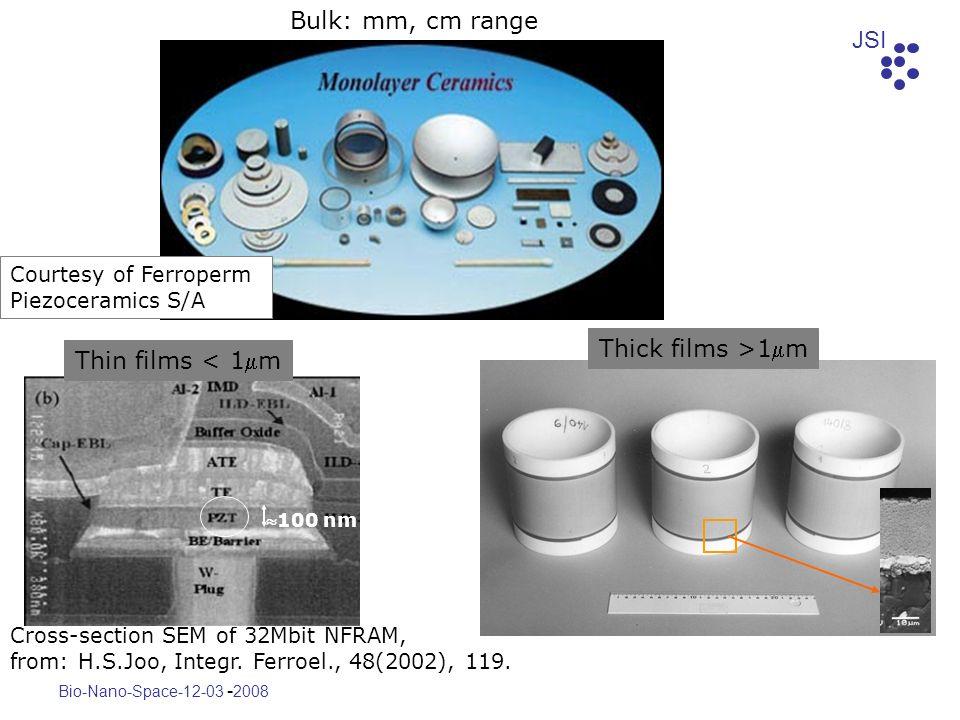 JSI Bio-Nano-Space-12-03 - 2008 Cross-section SEM of 32Mbit NFRAM, from: H.S.Joo, Integr. Ferroel., 48(2002), 119. Courtesy of Ferroperm Piezoceramics