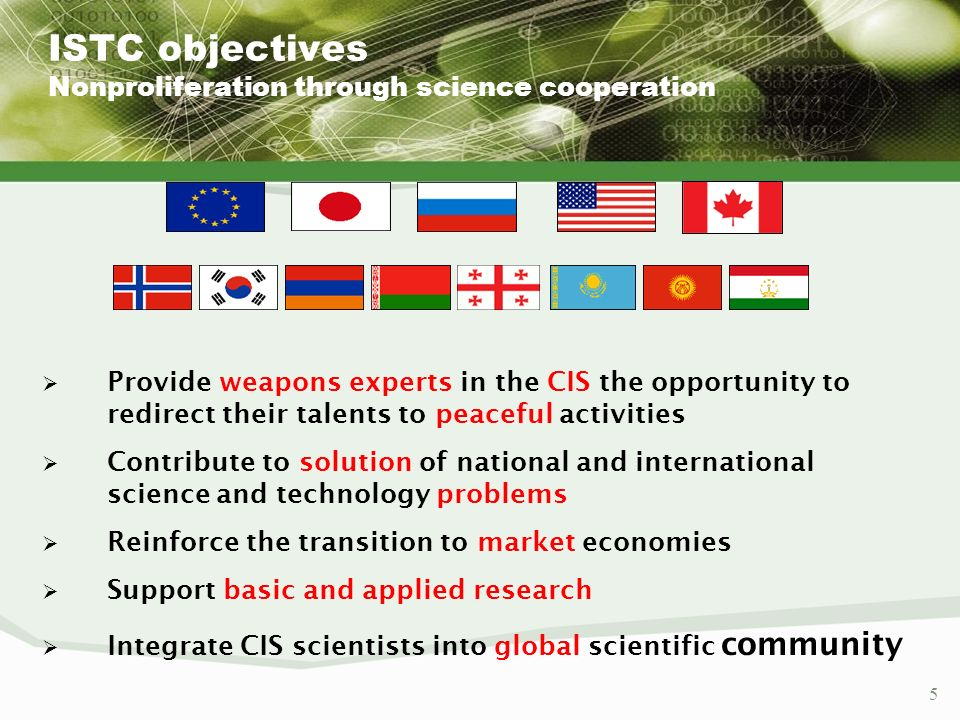 26 Options for a long term collaboration (beyond an ISTC frame) A concept of International Science Laboratory (International Centre of Excellence) –Creating an organisational (legal) frame going beyond the ISTC project frame Starting with an ISTC project Ending on legal entities facilitating a long term cllaboration A possible intermediate stage: an institute twinning concept