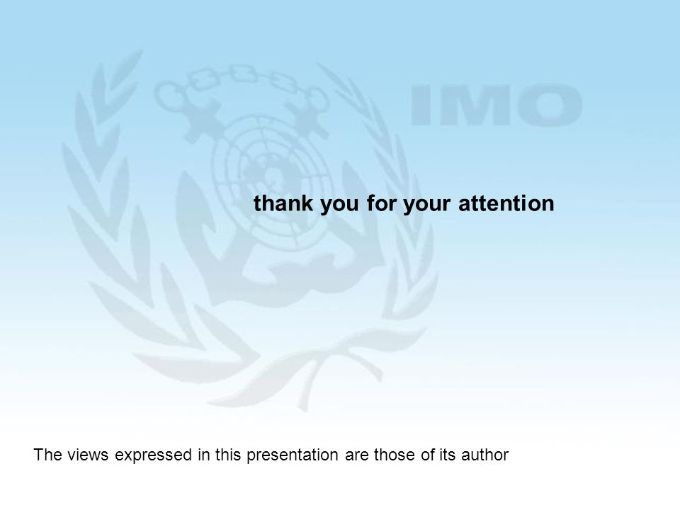 38 thank you for your attention The views expressed in this presentation are those of its author