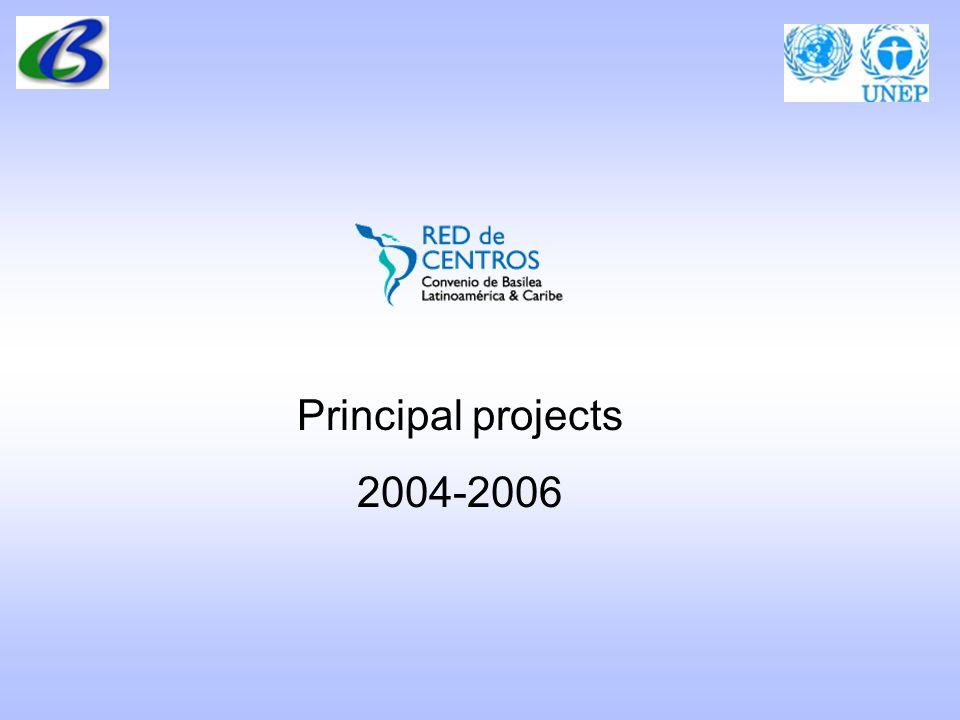 Principal projects 2004-2006