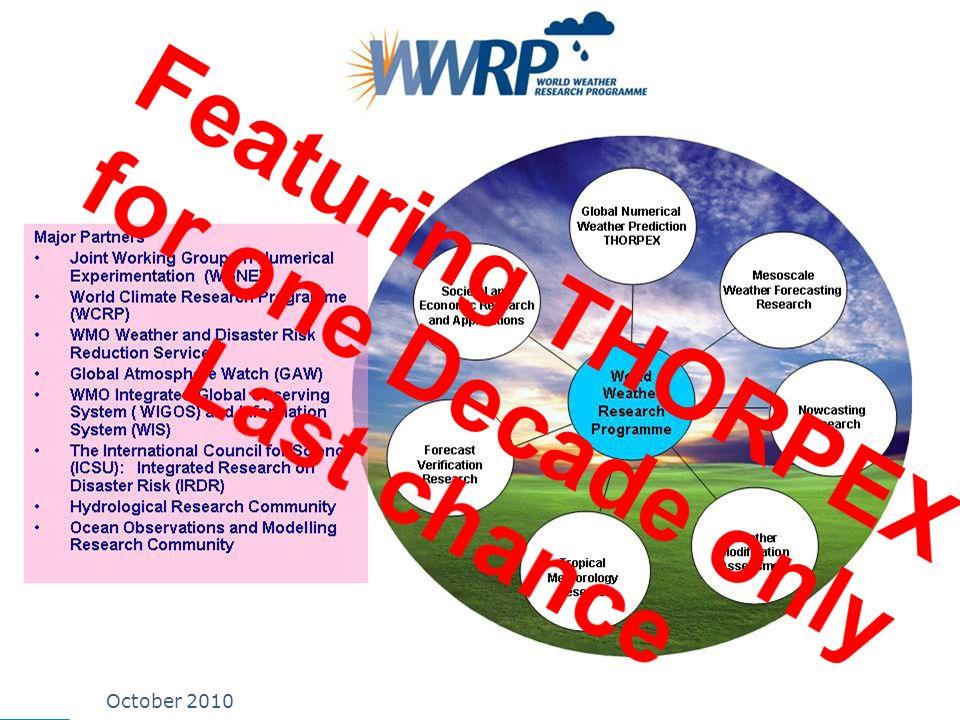 WWRP 2 October 2010