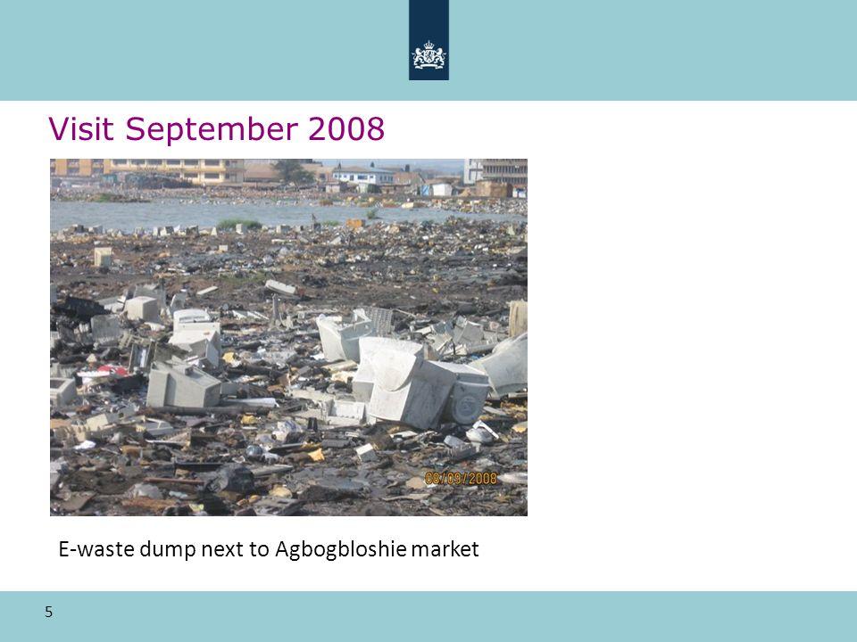 5 Visit September 2008 E-waste dump next to Agbogbloshie market