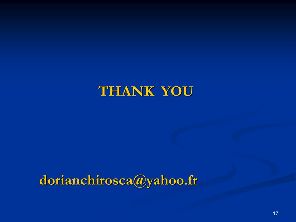 17 THANK YOU THANK YOUdorianchirosca@yahoo.fr