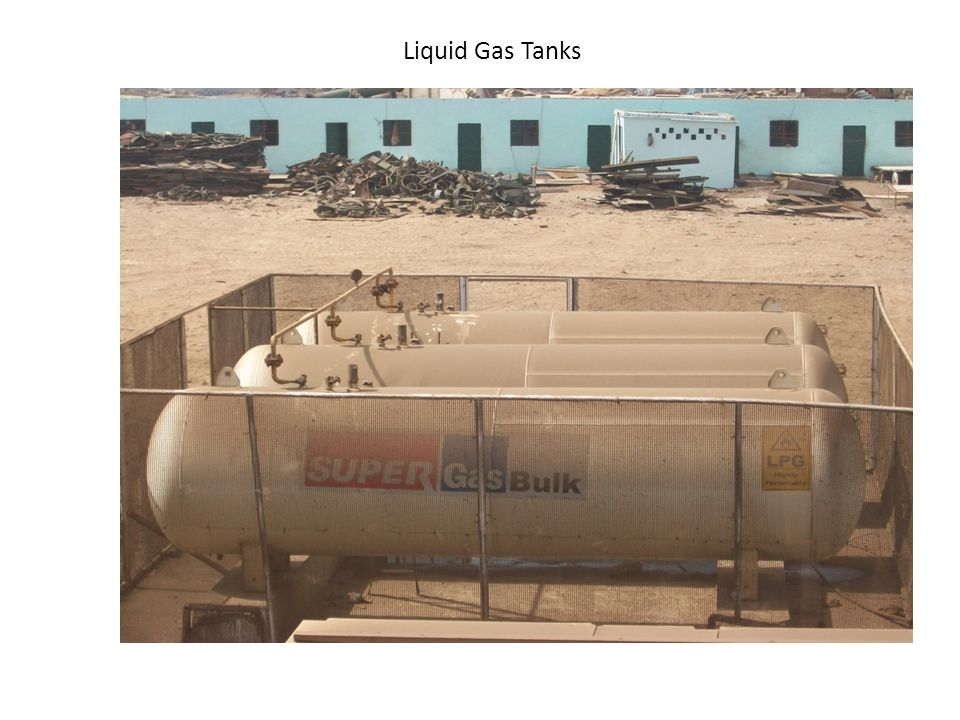 Liquid Gas Tanks