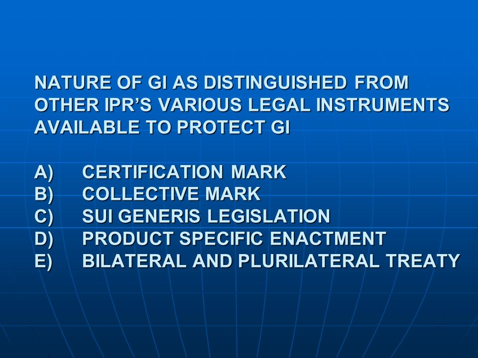 WHAT IS CERTIFICATION MARK.