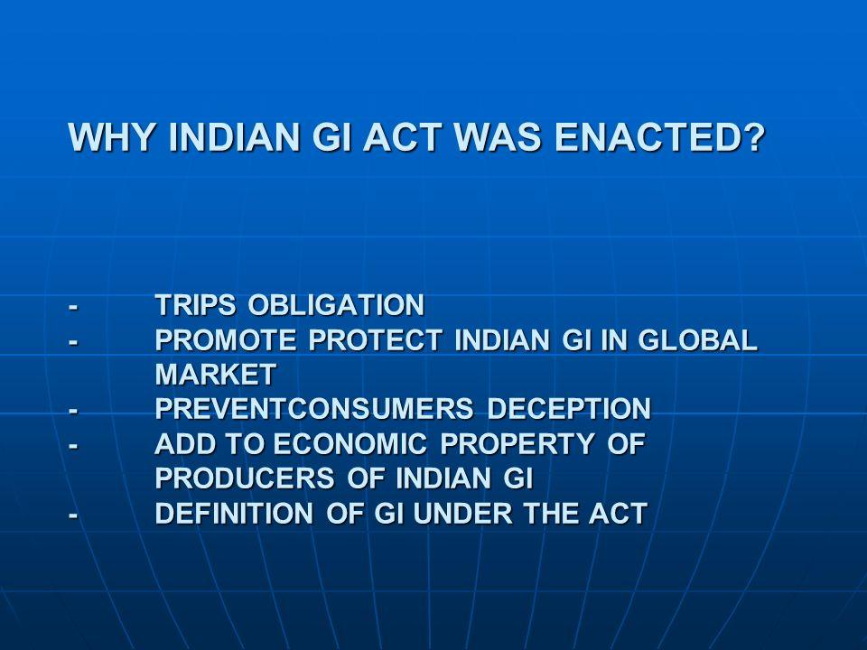 HOW GI REGISTRATION HELP REG.PROPRIETOR.