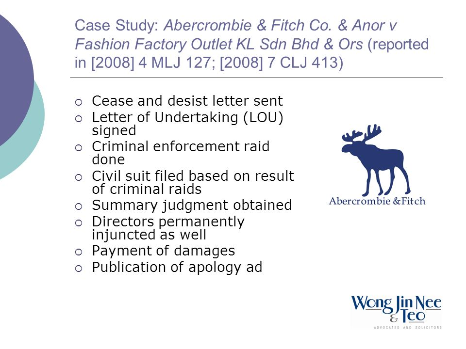 Case Study: Abercrombie & Fitch Co.