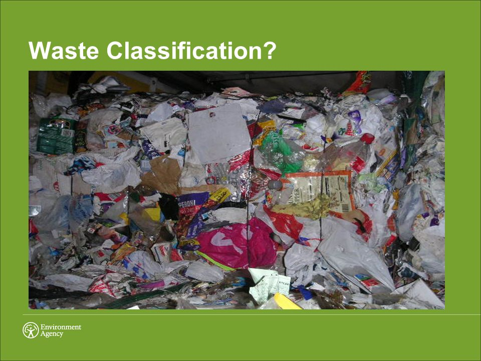 Waste Classification