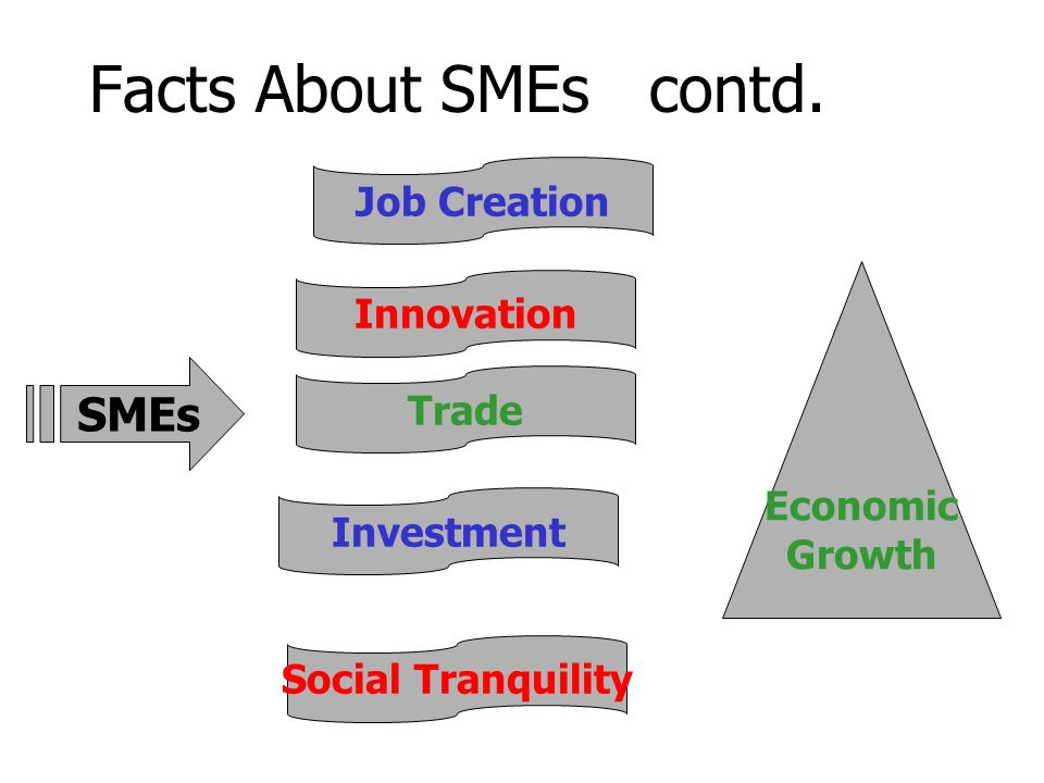 Facts About SMEs contd.