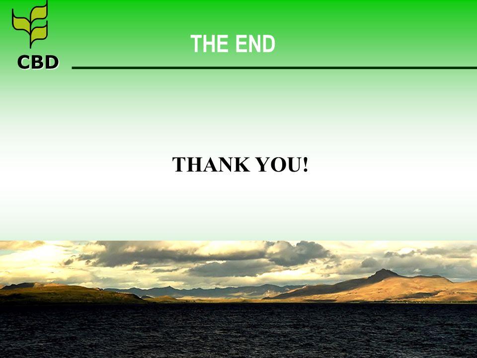 CBD THE END THANK YOU!