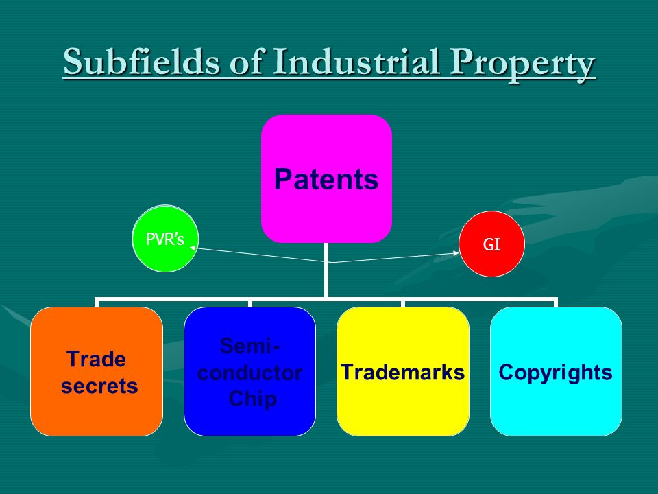 Comparing the Forms of Industrial Property Each area of IP law has its own set of complex rules and statutesEach area of IP law has its own set of complex rules and statutes As a result, Industrial property law is a complex mélange of legal detail that can take the better part of a lifetime to master fullyAs a result, Industrial property law is a complex mélange of legal detail that can take the better part of a lifetime to master fully