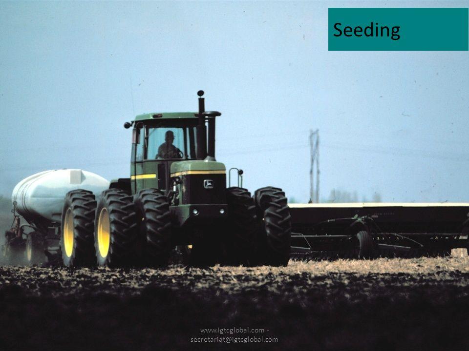 15 Seeding www.igtcglobal.com - secretariat@igtcglobal.com