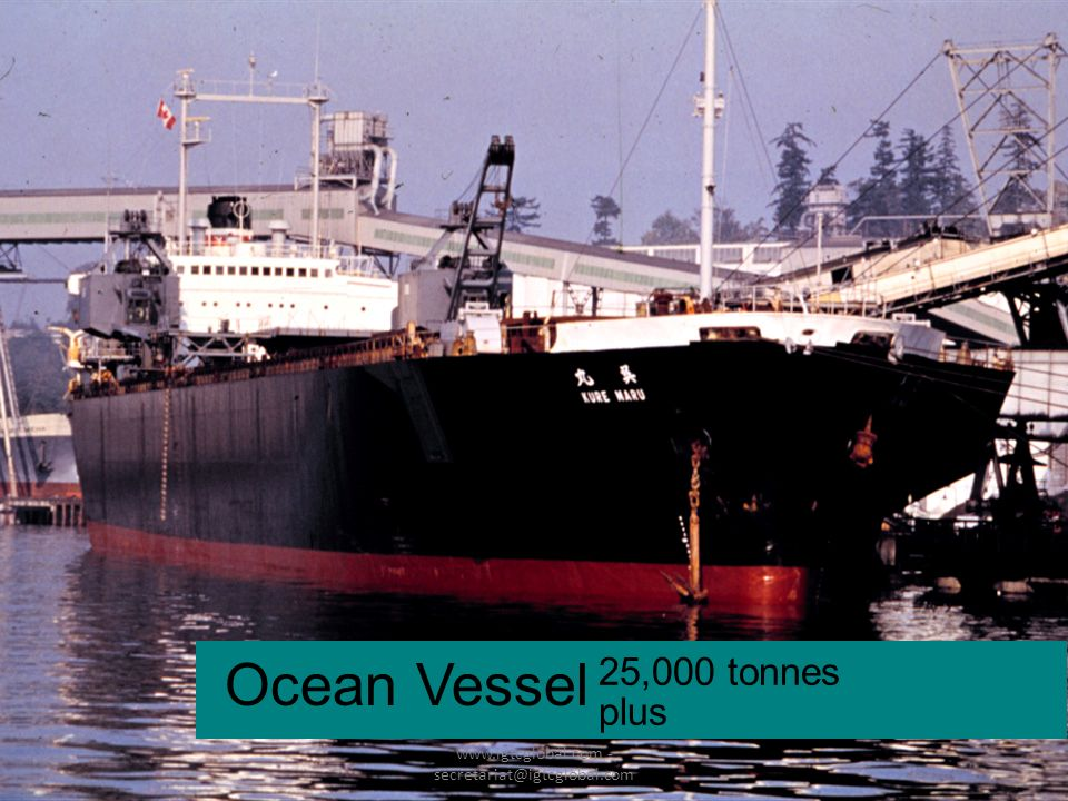 24 Ocean Vessel 25,000 tonnes plus www.igtcglobal.com - secretariat@igtcglobal.com
