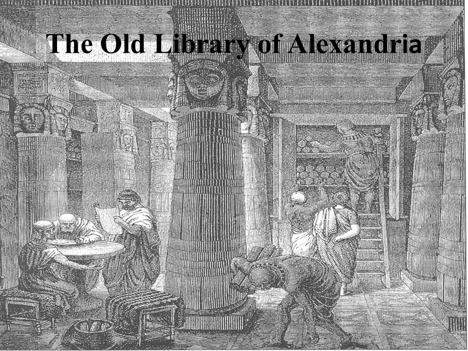 The Old Library of Alexandr ia