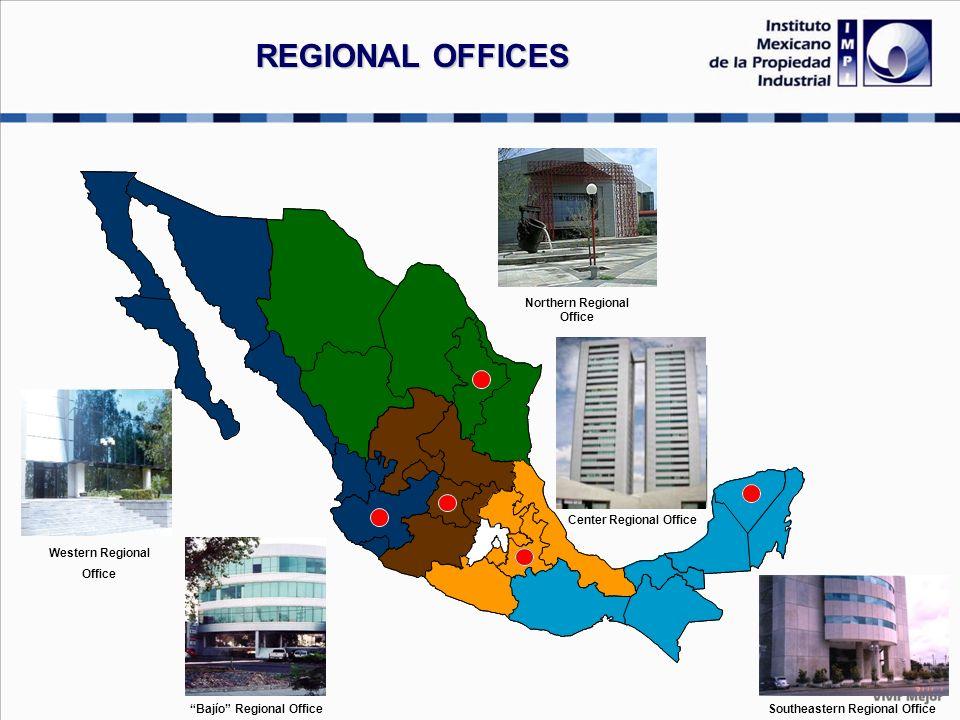 Northern Regional Office Western Regional Office Southeastern Regional Office Bajío Regional Office Center Regional Office REGIONAL OFFICES