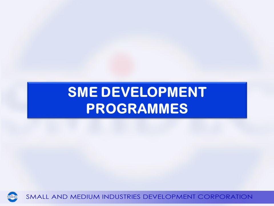 SME DEVELOPMENT PROGRAMMES
