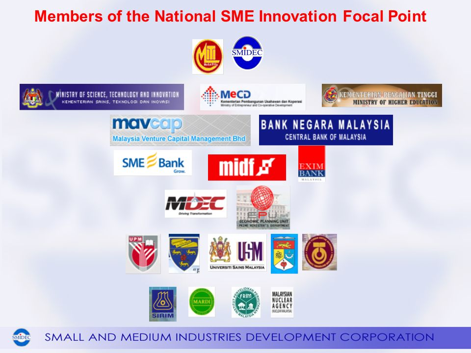 Members of the National SME Innovation Focal Point