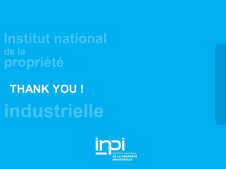 industrielle Institut national de la propriété THANK YOU !