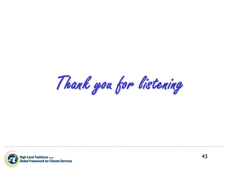 Thank you for listening 43
