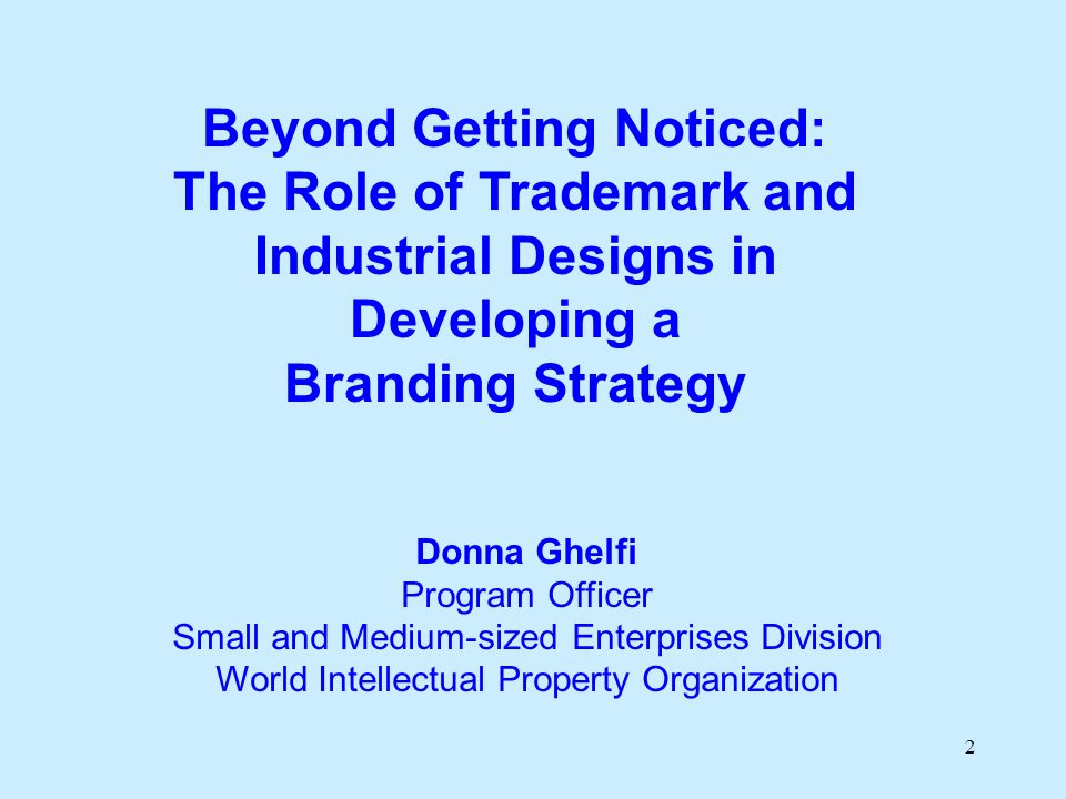 13 What is the Relationship between a Brand and a Trademark.