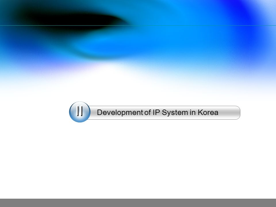 Development of IP System in Korea
