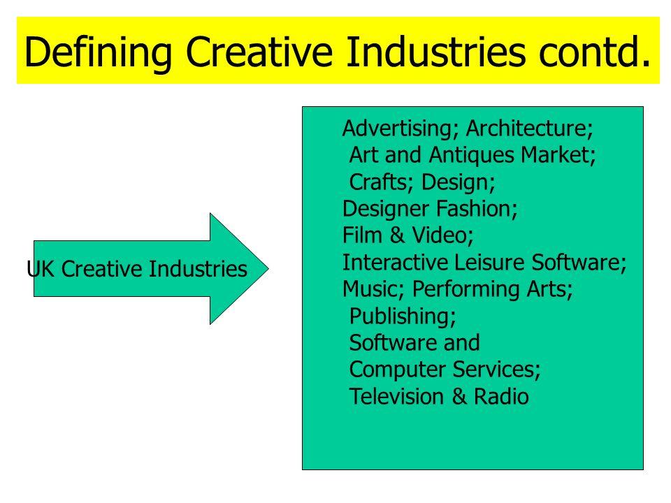 WIPO Creative Industries Agenda contd.