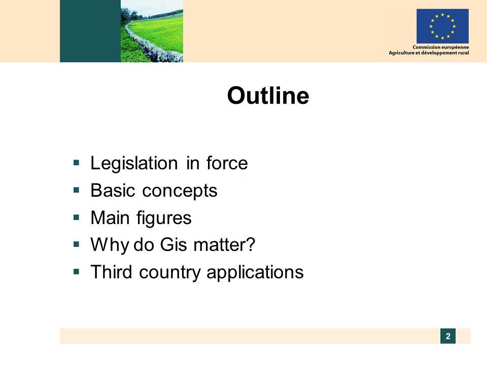 3 The European Union 27 Member States 490 million consumers 14 million farmers