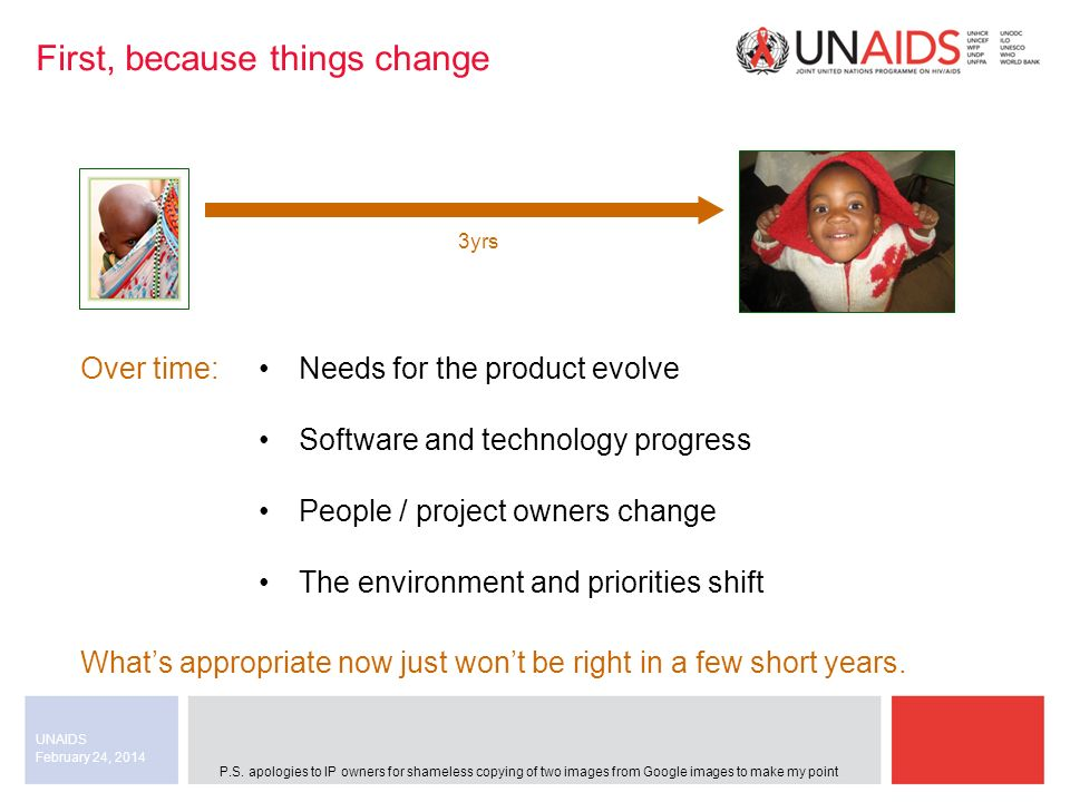 February 24, 2014 UNAIDS Example: Terms and conditions We include the text: Details of the contractual and bidding conditions are to be found in Annex II (Terms and Conditions).