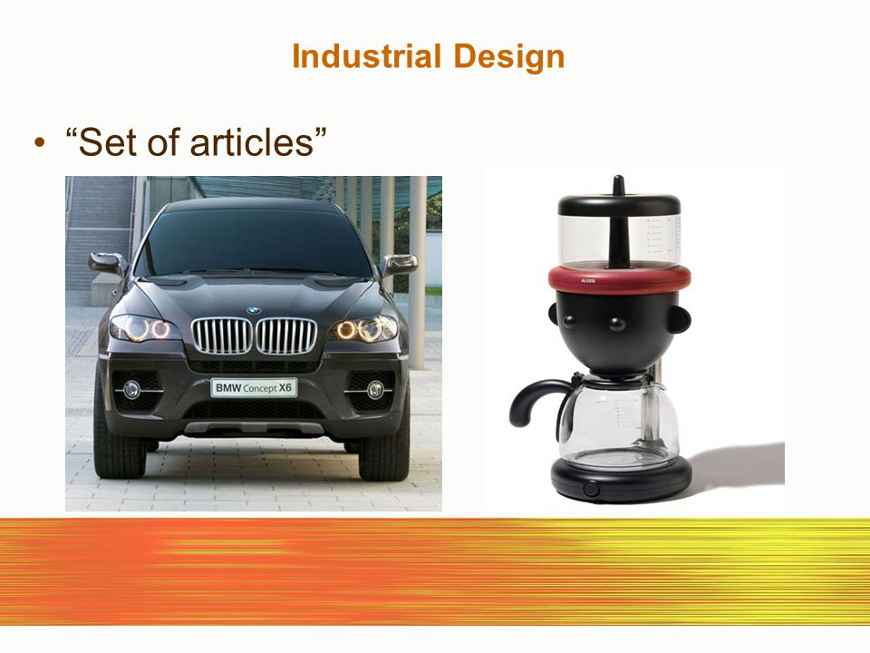 Industrial Design Set of articles
