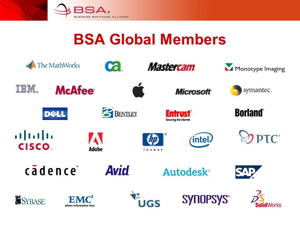 BSA Global Members