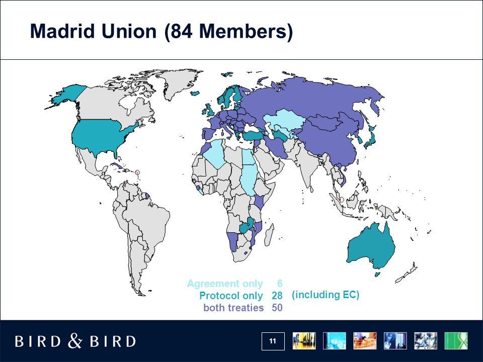 11 Madrid Union (84 Members)