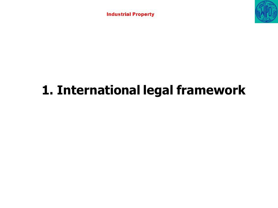 Industrial Property 1. International legal framework