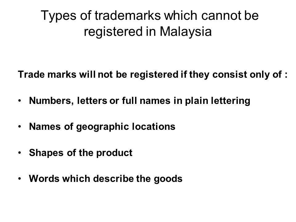 Clearing a New Mark Searching – –pending trademark applications and granted registrations –Knock-Out search Recommend to follow up with outside search (Thomson &Thomson®), which will find phonetically similar marks