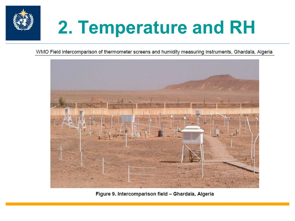 2. Temperature and RH