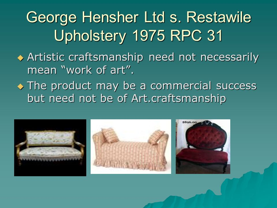 George Hensher Ltd s.
