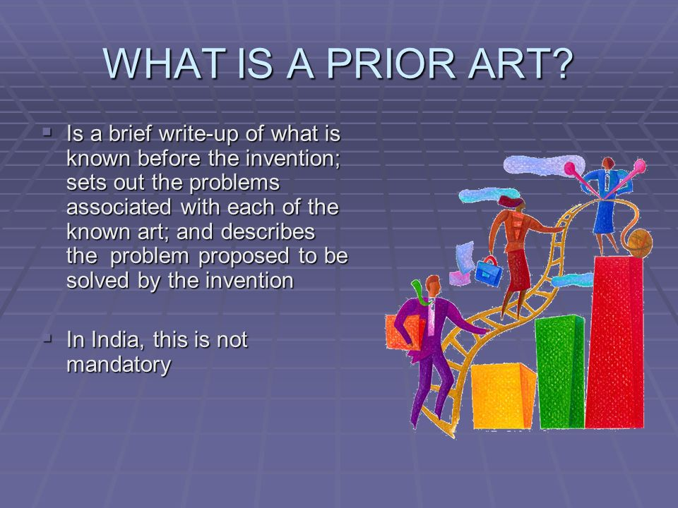 WHAT IS A PRIOR ART.