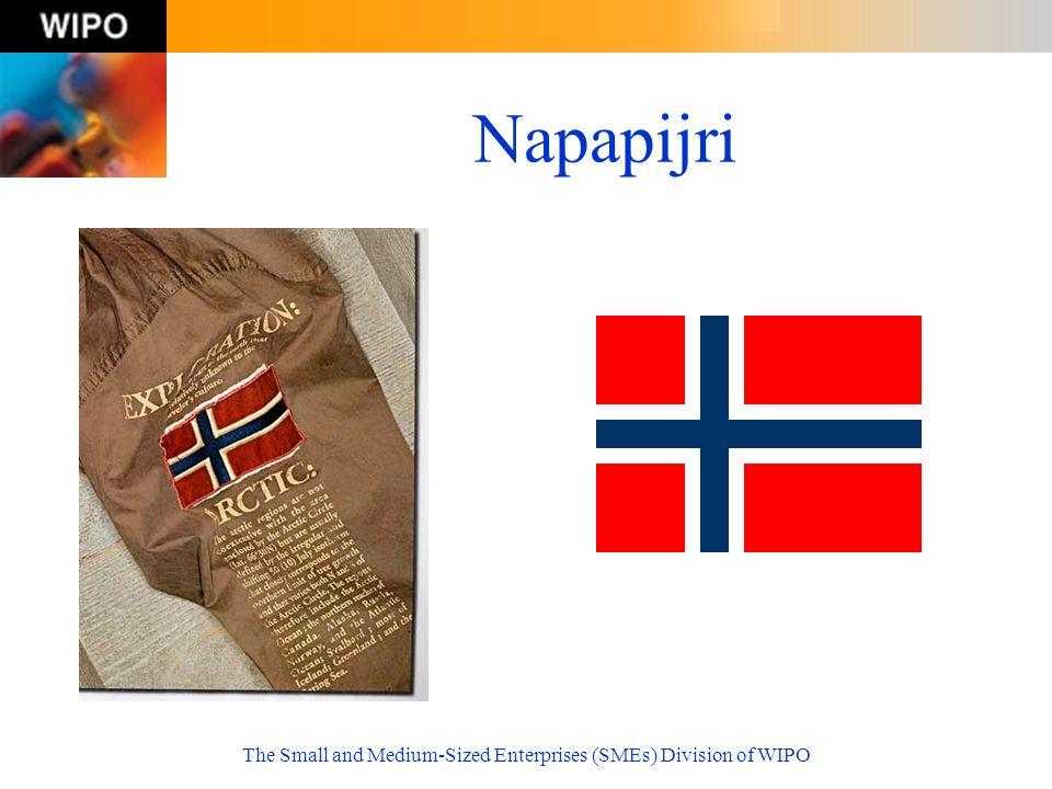 The Small and Medium-Sized Enterprises (SMEs) Division of WIPO Napapijri