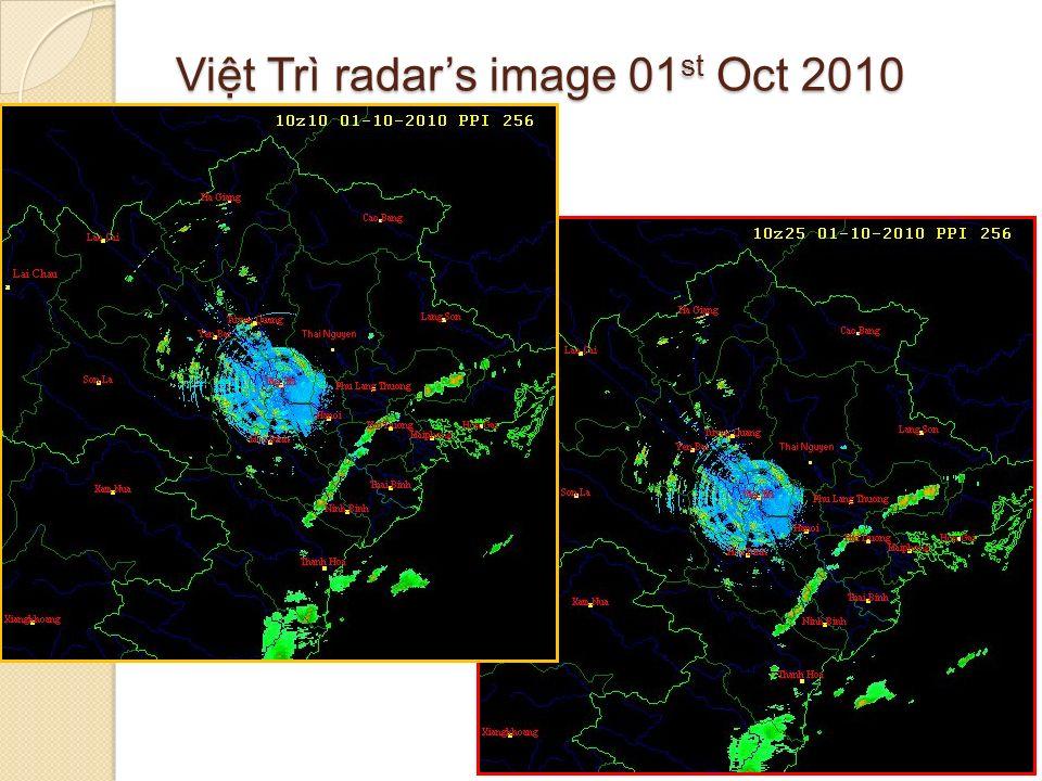 Vit Trì radars image 01 st Oct 2010