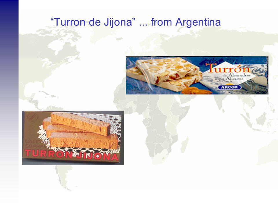 Turron de Jijona... from Argentina