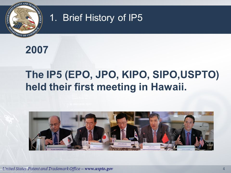 United States Patent and Trademark Office – www.uspto.gov 5 1.