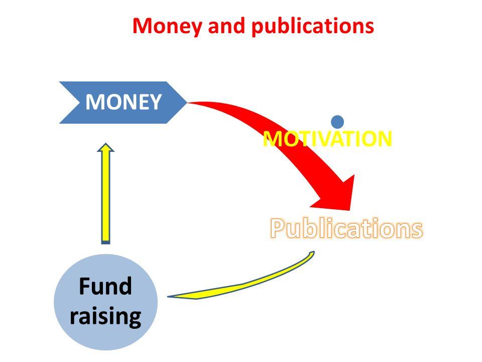 MONEY MOTIVATION Fund raising Money and publications