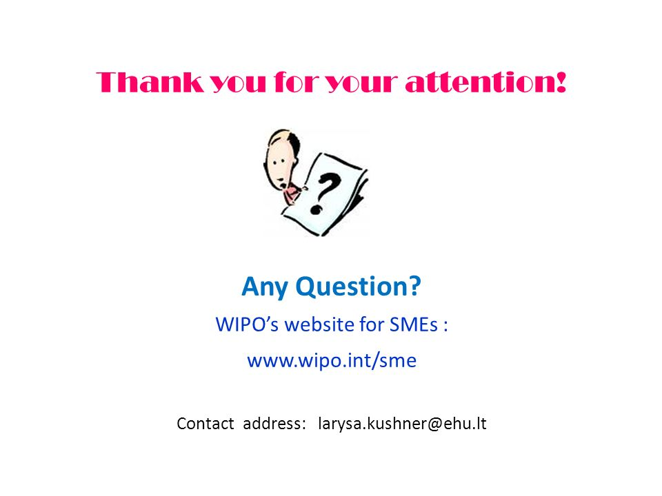 Thank you for your attention. Any Question.
