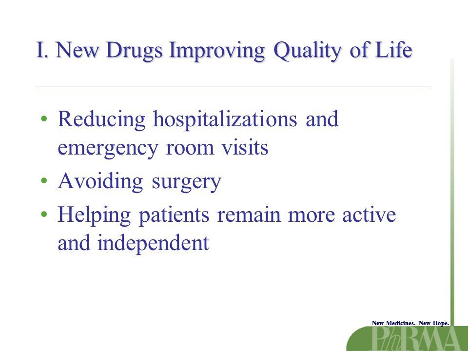 New Medicines. New Hope. I.