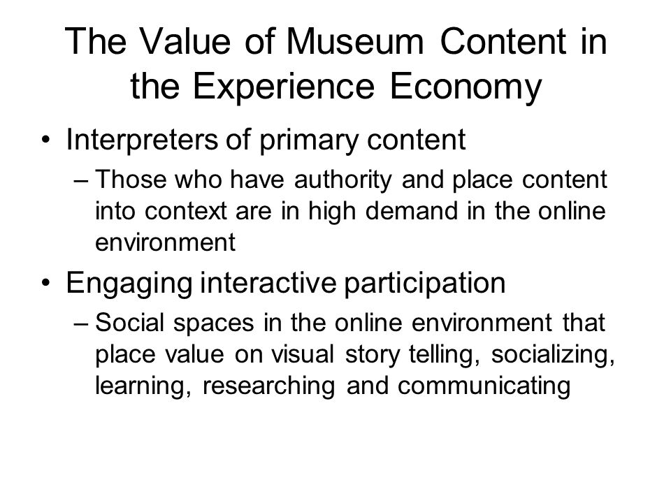 The YouTube Experiment YouTube #2 search engine after Google, Combining search capability with Ontario Science Centre brand and content Audience interaction to create (using appropriation methods) new works (IP) ?