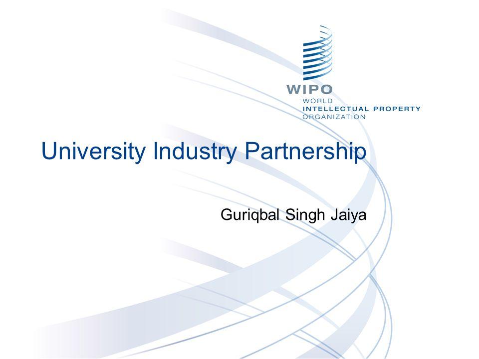 University Industry Partnership Guriqbal Singh Jaiya