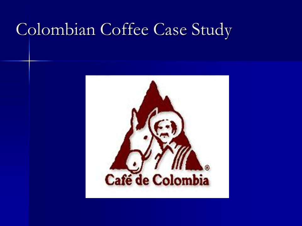 Colombian Coffee Case Study