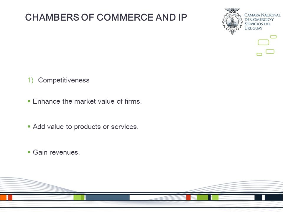 1)Competitiveness Enhance the market value of firms.