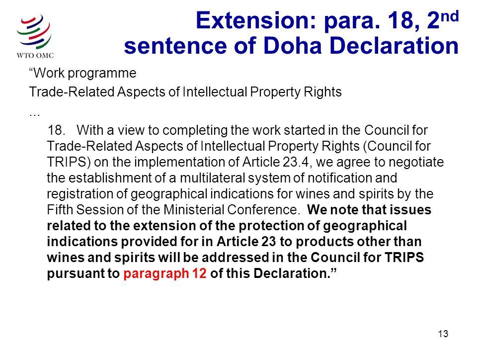 13 Extension: para.
