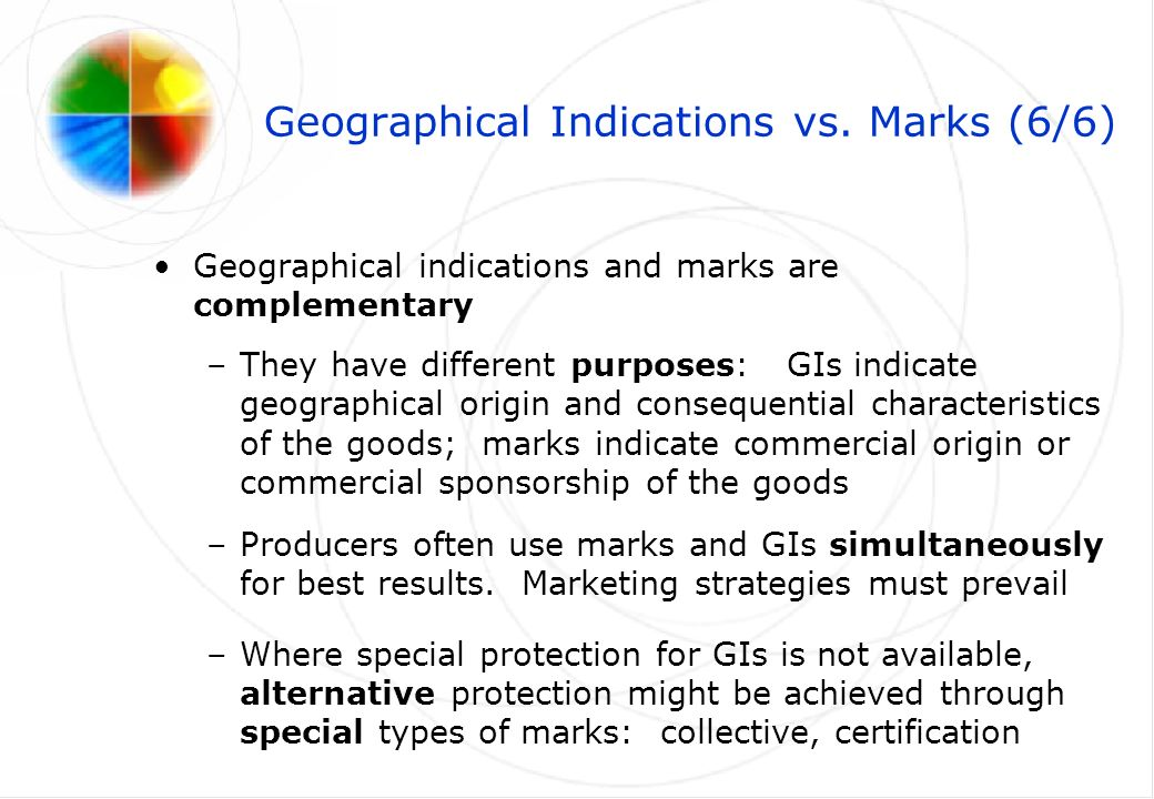 Geographical Indications vs.