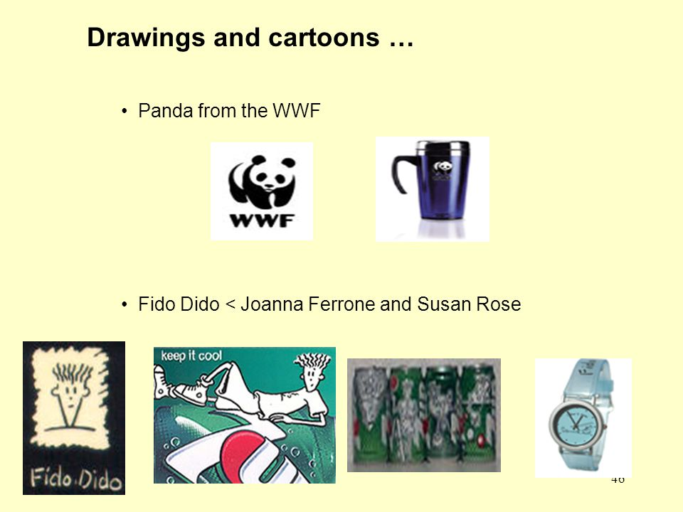 46 Drawings and cartoons … Panda from the WWF Fido Dido < Joanna Ferrone and Susan Rose